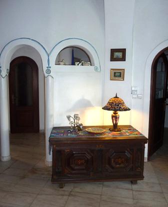 Wohnzimmer im Erdgeschoß - Blick richtung Flur