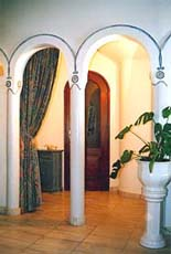 Vom Wohnzimmer zum Flur (Erdgeschoss)