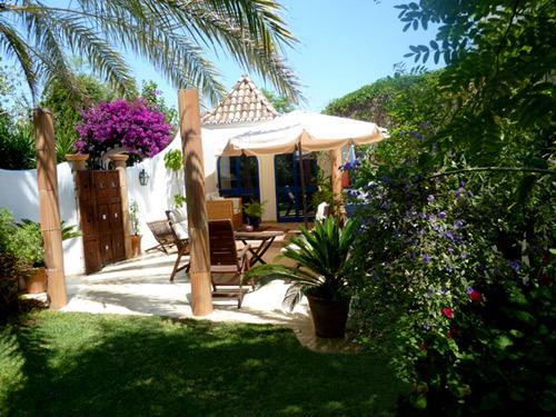 Das Haus Casa Gardenia von der Terasse aus gesehen